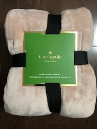 Queen Kate Spade Fleece Blanket - Brand New Mississauga, L5R