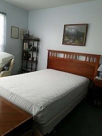 Queen size bed Bed w/Wood Frame  Germantown, 20876
