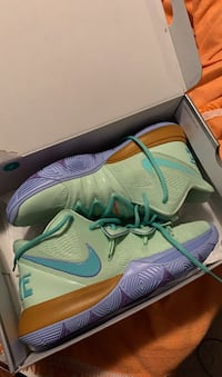 KYRIE 5 squidwards size 10 dead stock