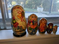 vintage handmade hand-painted Christmas decor Manchester, 03102