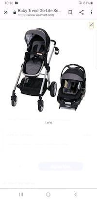 Babytrend stroller. And carseat set.