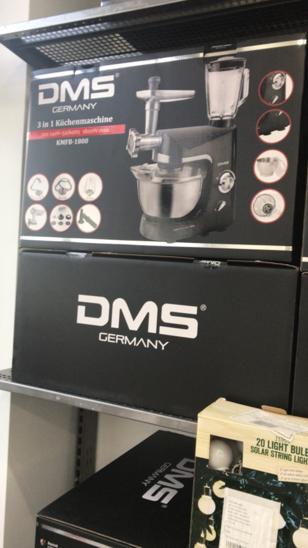 DMS tyskland 3 i 1 kitchenmachine box