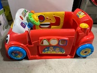 Fisher price learning car.