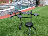black and gray electric drum set San Diego, 92124