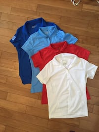 4 Golf Shirt Set