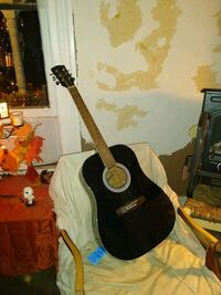 Signature SA41BKCH Acoustic Guitar Black