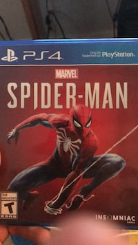 PS4 The Amazing Spider-Man 2 game case Nanaimo, V9R 3B7