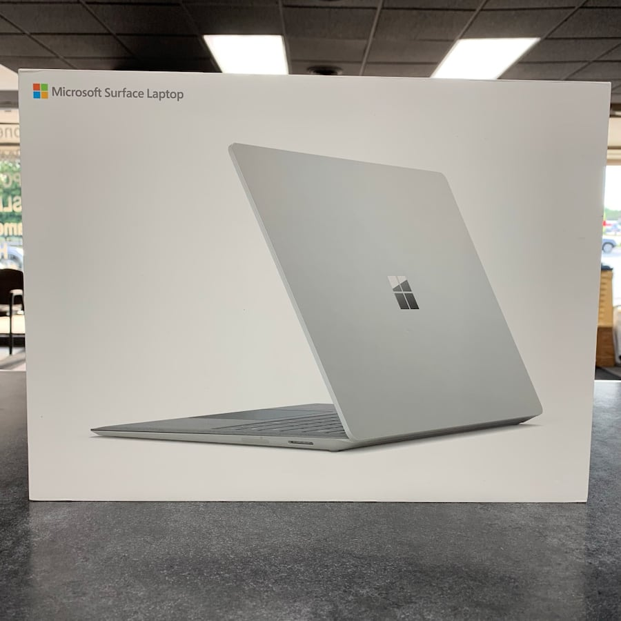 """Microsoft Surface Laptop 13.5"""" Windows 10 Notebook PC See Photos For Specs  9ca20777-02b5-41af-9eea-7a901d160d94"""