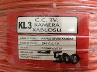 2+1 CCTV 2*0'50 CU Outdoor cable Beylikdüzü, 34524