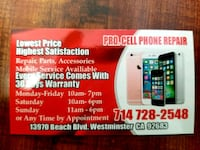 Phone battery repair Westminster, 92683