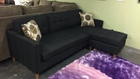 Fabric reversible sectional