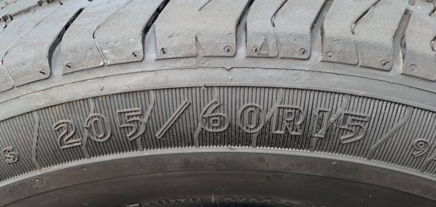Goodyear 205/60 R15 tire used. Good tread. Great spare. All season 23c9dd69-9d6d-4cf6-a4ee-1bc469b5bc81