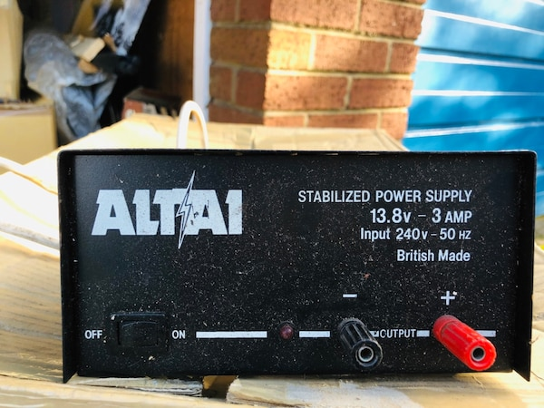 12v box for the garage excellent condition pick up only .