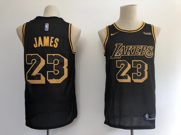 Brukt LeBron James Los Angeles Lakers Black Jersey til salgs i Vaughan -  letgo ffa7b2c45