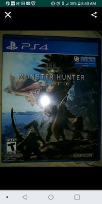 PS4 Monster HUNTER Baltimore, 21201