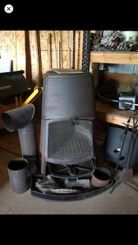 Burr Need to heat your man cave or she shed check out my wood stove  Niles, 49120