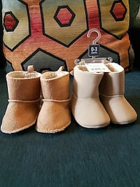 0-3 months winter booties Bronx, 10469