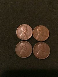 1950 to 1954 Rare Pennies  Point Clear, 36564