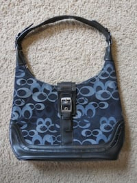 Black & Blue Purse Arlington Heights