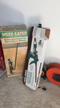 Weed feeder and hedge trimmer $20 for both  Ann Arbor, 48104