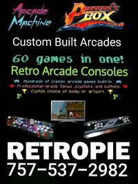 Custom built arcades troubleshooting and help  Portsmouth, 23702