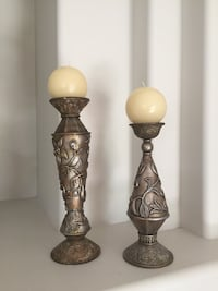 Candle Holders with Candles & Decorative Clock Edmonton, T5X 0E8