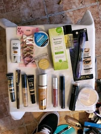 Make up, lotion and shavers/razors
