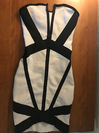 black and white sleeveless mini dress Sacramento, 95834