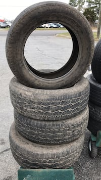 four black auto tire set Phenix City, 36870