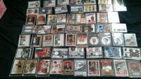 I have 64 mint GAME  USED & AUTOGRAPHS