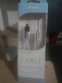 Iphone charging sync cable