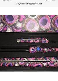 Hair straightener and curling wand ceramic Abbotsford, V3G 1Y9