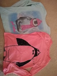 Two penguin themed long sleeve shirts Cooksville, 21723
