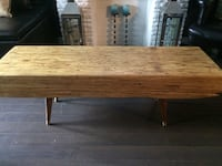 Rustic wood coffee table  Toronto, M6N 4P9