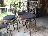 3 iron bar stools$35.00 each or all for $100.00 Harahan, 70123
