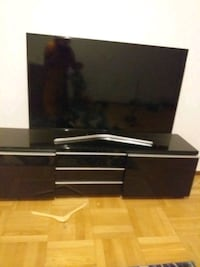 Samsung smart TV with table tv . Both Tensta, 163 63