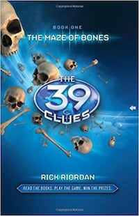 The 39 Clues Book One: The Maze of Bones Hardcover