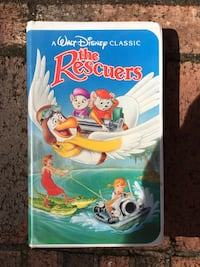 THE RESCUERS VHS FOR KIDS