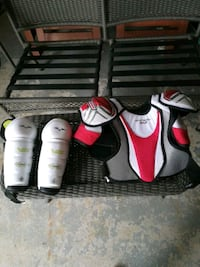 black-and-white vaporshin guards and shoulder paf