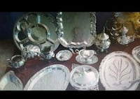 silver plated trays, tea sets, candlesticks and more. Bel Air, 21014