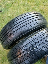 2 x 175 65 R14 tires with rims toyota corolla '97  Mississauga, L4Z 3K4