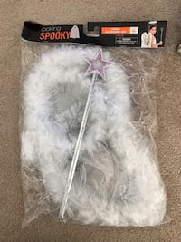 Brand new Spooky Angel Accessory 3 Piece Set.  Includes wings, headband and wand.(pick up only) Alexandria, 22310