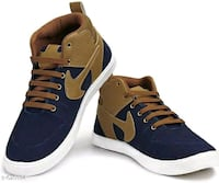 pair of brown-and-white Nike sneakers Madurai, 625020