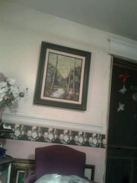 two brown wooden framed paintings Tulsa, 74107