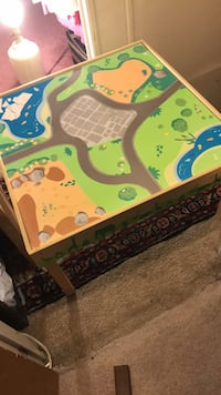 Kids car/train/activity table