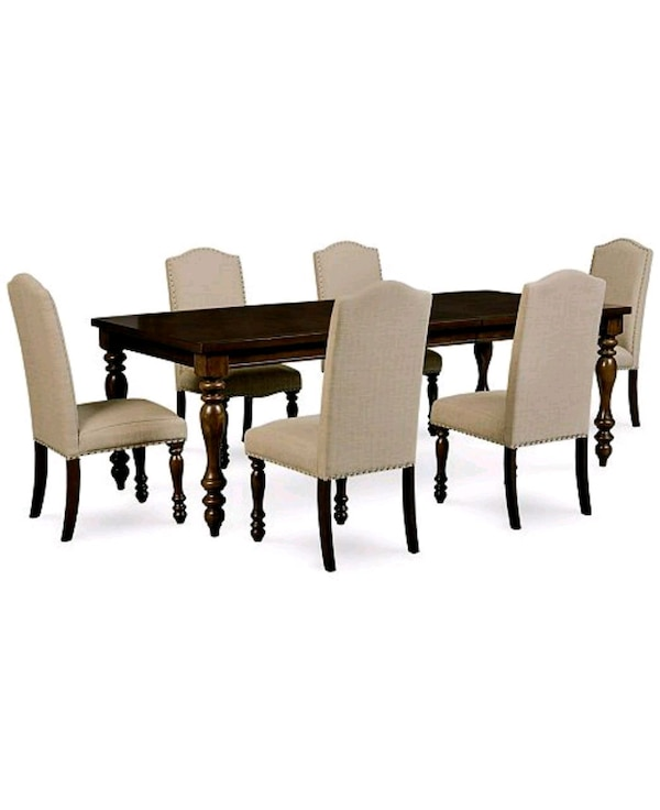 Used 7 Piece Dining Table Set W Chairs For Sale In Brooklyn