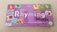 Puzzle Pairs Rhyming Words Game Downingtown, 19335