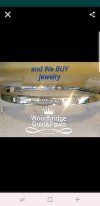 14kt White Gold Diamond Bracelet  Woodbridge, 22192