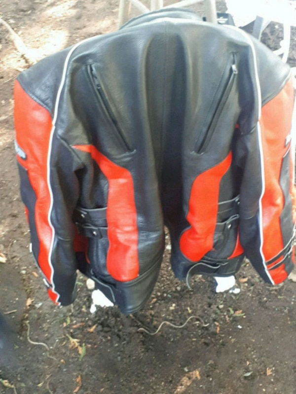 Rubber side down motorcycle jacket
