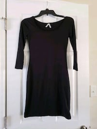 Elbow sleeve dress